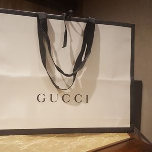 Gucci gift bag large